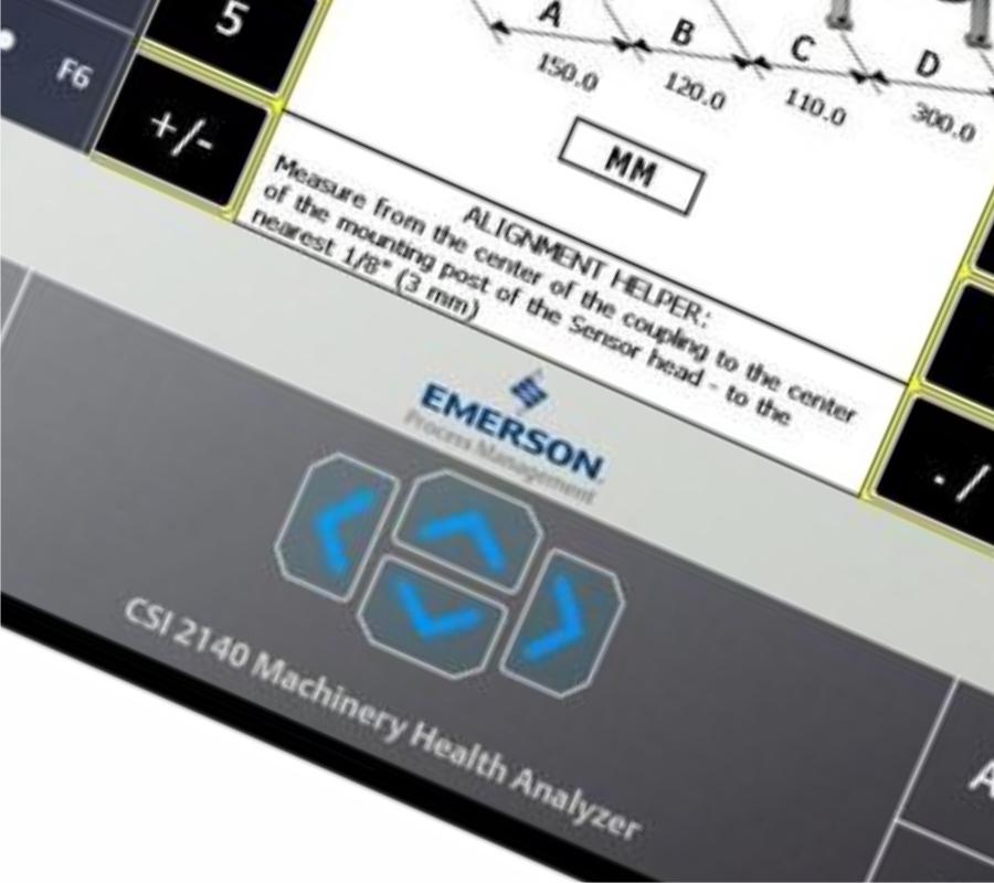 Metron Emerson CSi 2140 Condition Monitoring System