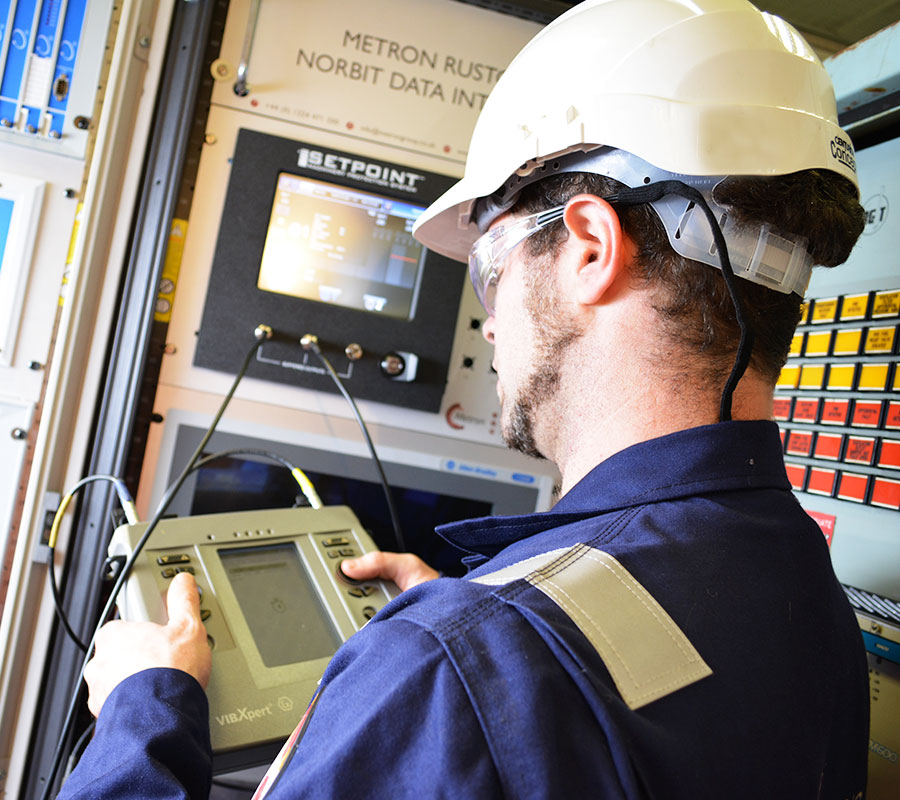 Pruftechnik Condition Monitoring System